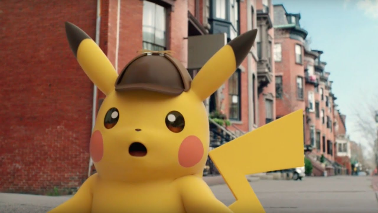 Detective Pikachu Official Japanese Trailer Youtube