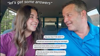 asking my dad DATING QUESTIONS you're too afraid to ask yours!