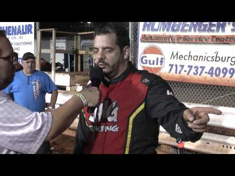 Williams Grove Speedway ARDC Midget Victory Lane 6-26-15