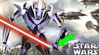 How Grievous Had a SECRET Sith Lightsaber Collection - Star Wars Explained