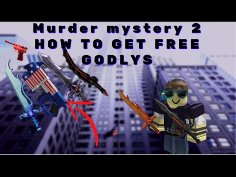 Murder mystery 2 *FREE GODLY KNIVES* AND GUNS!!!! WORKING (NO CLICKBAIT)