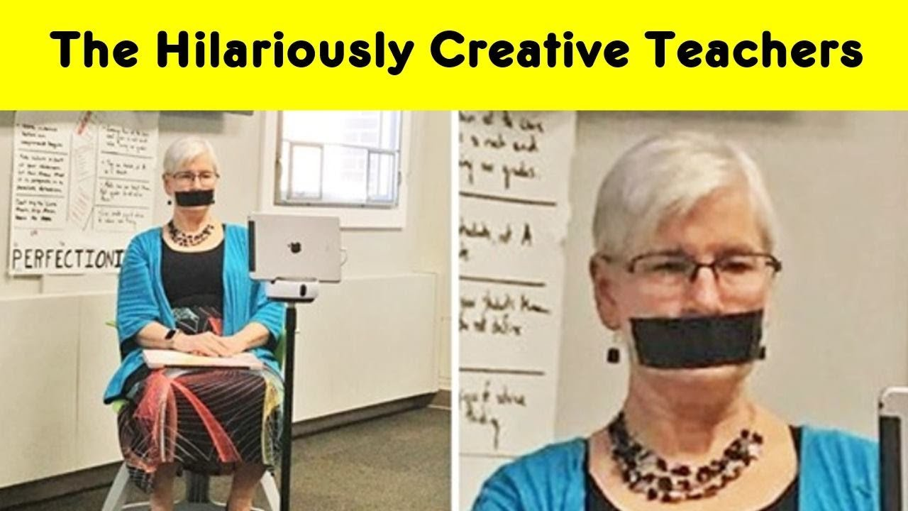 Hilarious Teachers Whose Professional Skills Are Beyond Awesome