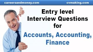 Entry Level Career Finance