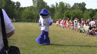 2014 Book'n It Run Mascot Race
