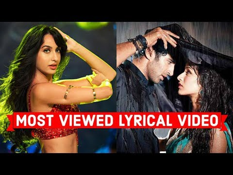 Top 10 Most Viewed Indian Lyrical Video Songs on Youtube of All Time | Bollywood Hindi Songs
