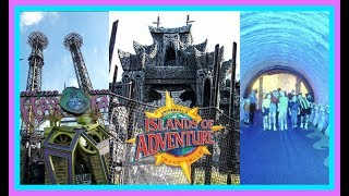 Top 6 WORST Islands of Adventure Attractions! |Stix Top 6| Universal Orlando Resort