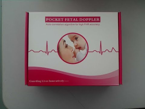 Wuhan UN medical handheld fetal doppler