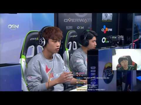 [Twinkl/오버워치] APEX1 bk stars vs 콩두 운시아