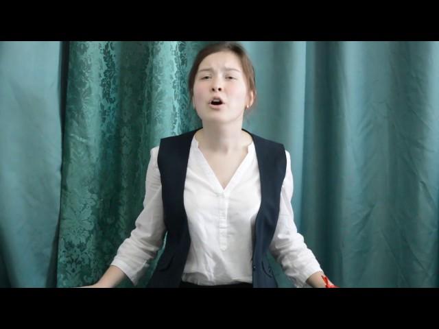 Изображение предпросмотра прочтения – СофьяБурдуковская читает отрывок изпроизведения «Облако в штанах» В.В.Маяковского