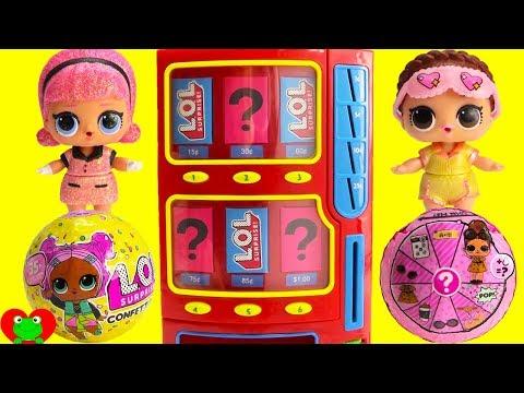 LOL Surprise Dolls Confetti Pop Vending Machine Surprises