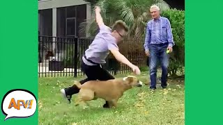 Getting DOGGED DOWN! 😂 | Funny Fails | AFV 2021