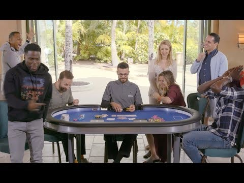 Kevin Hart Plays Usain Bolt at Challenge Poker   Part 3   PokerStars