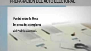 Video de capacitación de autoridades de mesa Parte 1