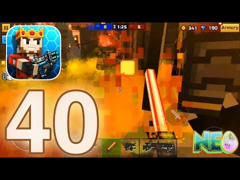 Pixel Gun 3D: Gameplay Walkthrough Part 40 - Multiplayer Battle! (iOS, Android)
