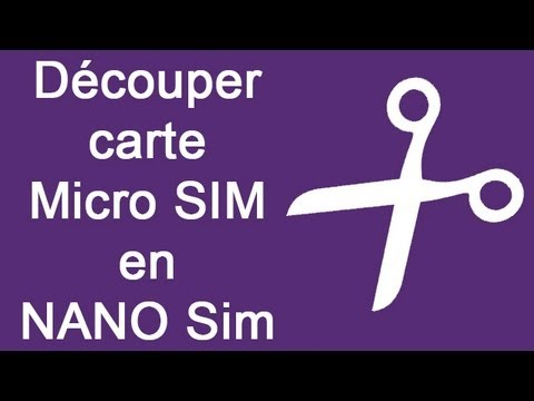 d couper carte micro sim en nano sim tutoriel iphone 5 5s 5c htc 6 6s youtube. Black Bedroom Furniture Sets. Home Design Ideas