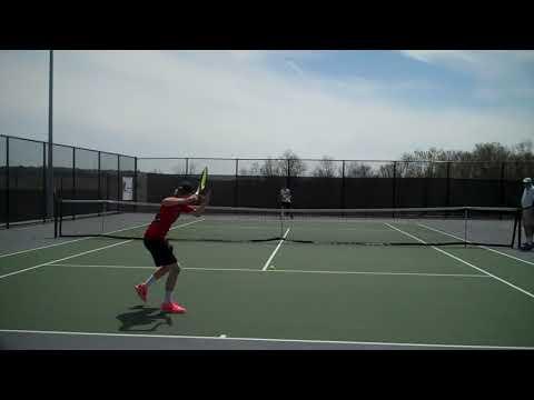 Nichols College men's tennis - CCC Championship vs ENC 5-5-18