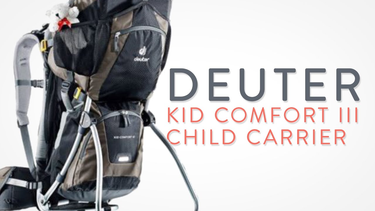 Deuter Kid fort III Child Carrier Backpack