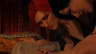 Ведьмак 3. Трисс и Йеннифэр развели Геральта на секс втроем в 4K (PC, Rus, 2160p)