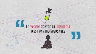 Data science vs Fake | «Le vaccin contre la rougeole n'est pas indispensable ?!»
