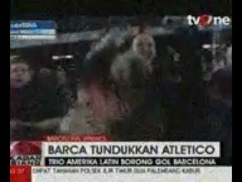 Barca Tundukkan Atletico Madrid
