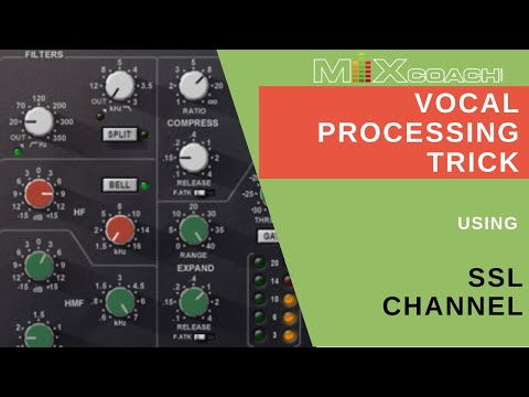Vocal Processing Trick With Ssl Channel In Pro Tools Mixcoach Playbook Youtube
