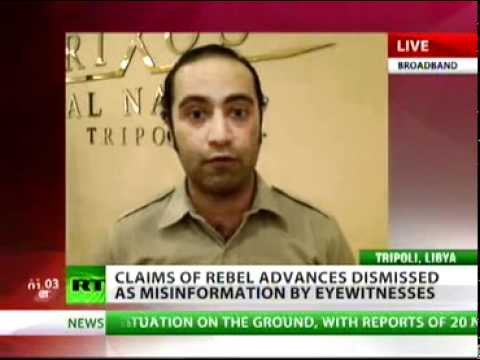 """""""The main point of the attacks in Tripoli is to break down the morale here and cause panic,"""
