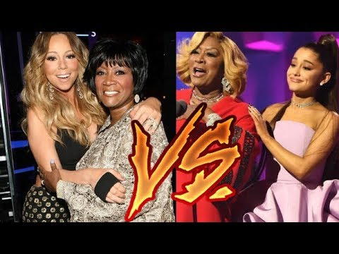 Ariana Grande VS Mariah Carey BEST DUETSCOLLABORATIONS with the same artists