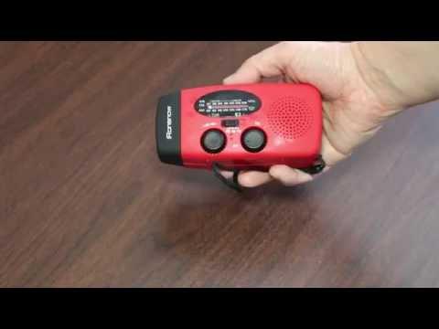 Review: iRonsnow® IS-088U Emergency Solar Hand Crank Self Powered AM/FM/NOAA/WB Weather Radio