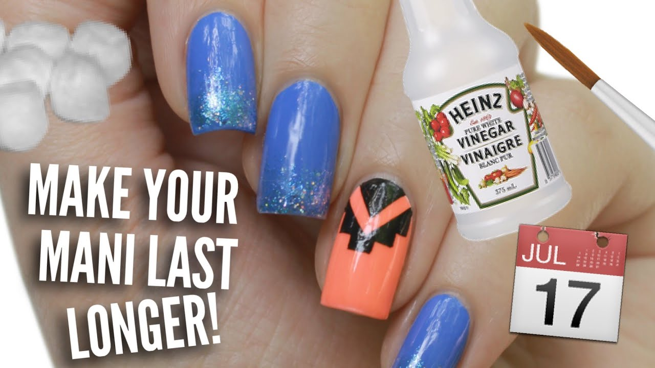 13 Ways To Make Your Manicure Last Longer! - YouTube