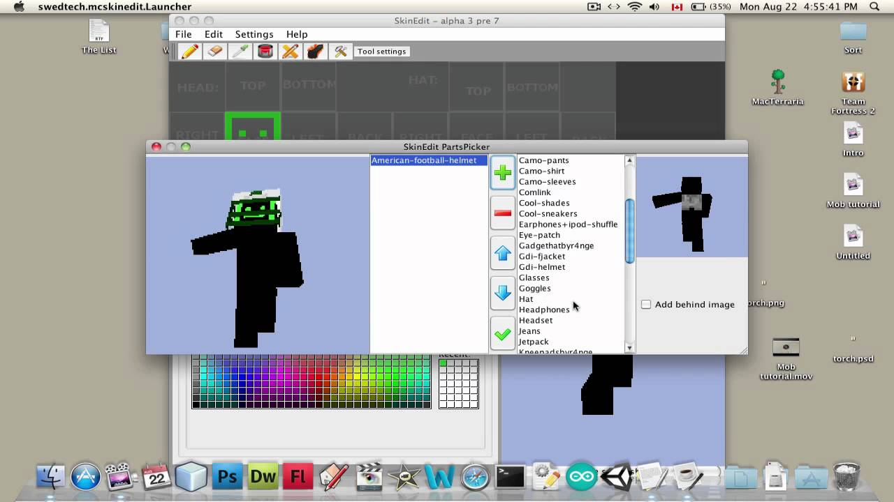 How To Draw Your Own Minecraft Skin