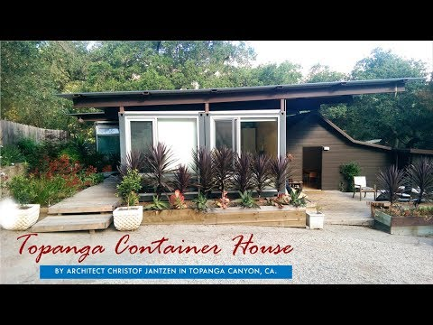 Topanga Container House by Architect Christof Jantzen, CA.