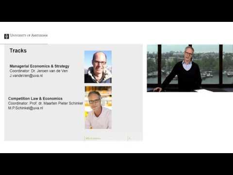 Webinar MSc Business Economics - 2017