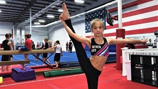 MY FIRST Gymnastics CLASS in USA