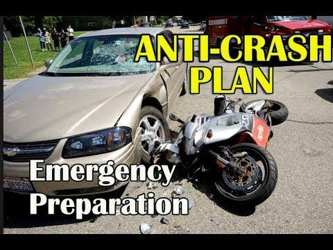 Motorcycle Anti-Crash Plan - Avoid An Accident with Skills - Braking Skills