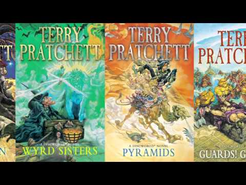 Terry Pratchett talks about Discworld artist Josh Kirby