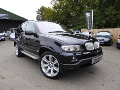 2004 BMW X5 4 8iS For Sale at George Kingsley Vehicle Sales, Colchester, Essex. 01206 728888