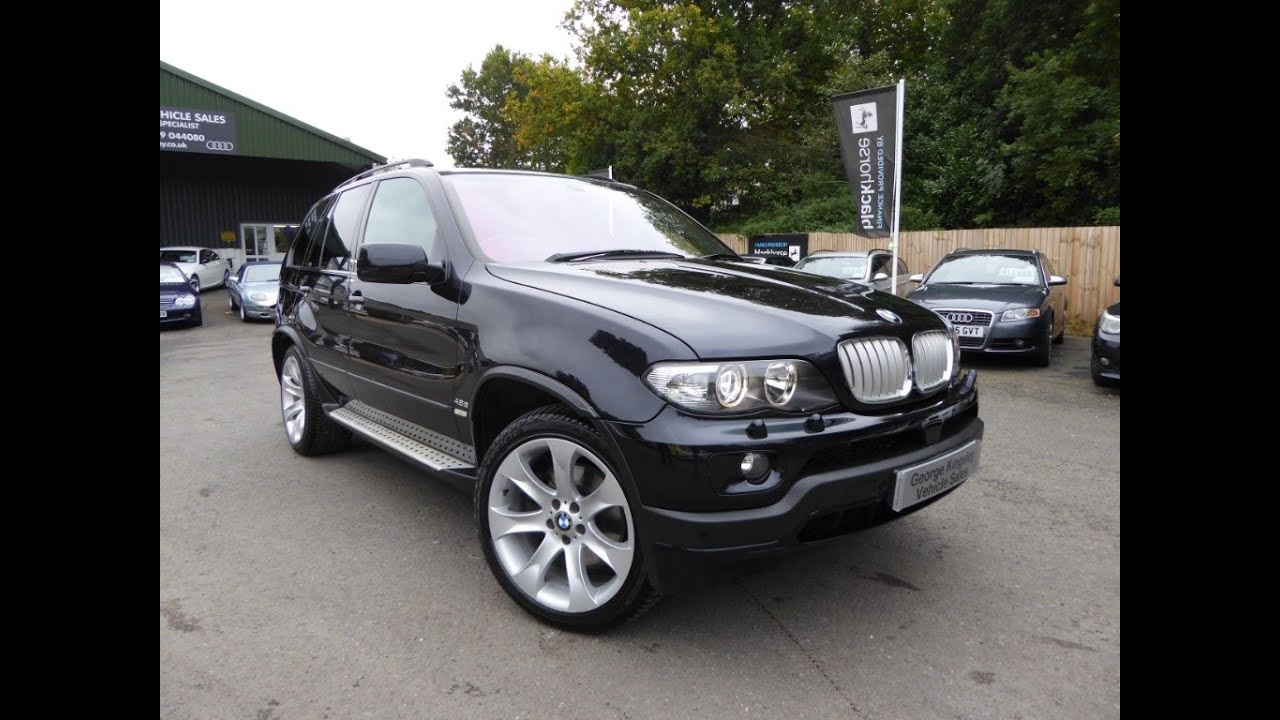 2004 bmw x5 4 8is for sale at george kingsley vehicle sales colchester essex 01206 728888. Black Bedroom Furniture Sets. Home Design Ideas