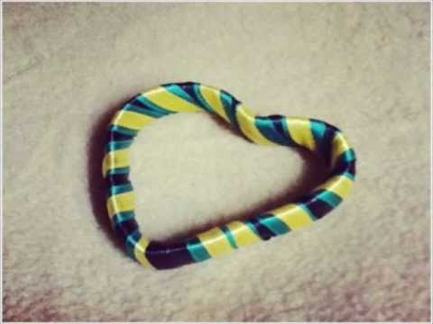 how to make a bracelet from can