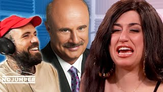 Reacting to Jessy Taylor on Dr  Phil. She Calls In and Freaks Out!!!
