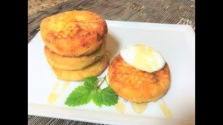 Чудо-Сырники Зимние ОСОБЕННЫЕ, к утреннему чаю. Cottage Cheese Pancakes