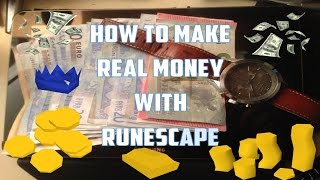 Make Real Money Playing Runescape (2015) Part 1