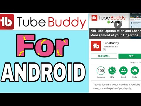 NEWS: TubeBuddy App Is Now Available For Android!!! tube Buddy App 2018