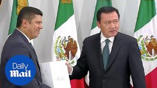 Mexico's interior minister defends Nieto's Trump meeting - Daily Mail