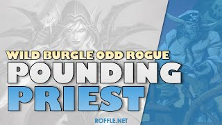 Hearthstone | Pounding Priest | Wild Burgle Odd Rogue | Rastakhan
