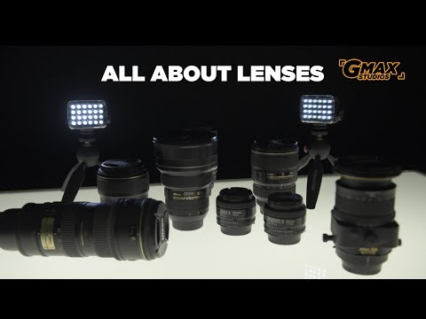 DSLR Camera Lenses - A Complete Introduction   Learn photography Episode 12