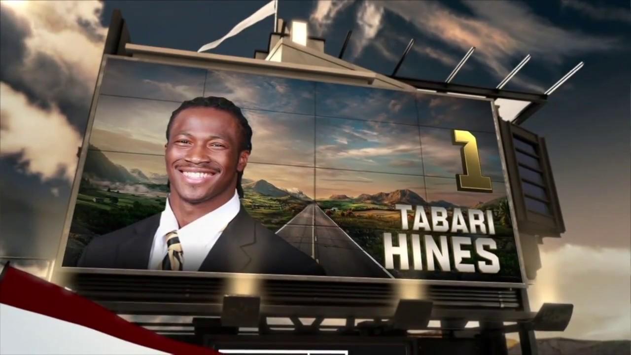 Tabari Hines 2017 Full Junior Season Highlights (Coaches ...