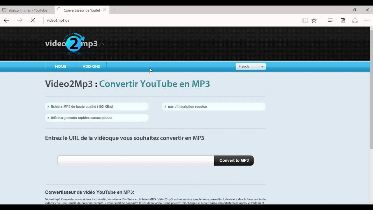 Comment telecharger une musique youtube mp3 sans logiciel et gratuitement youtube - Telecharger logiciel couper mp3 ...