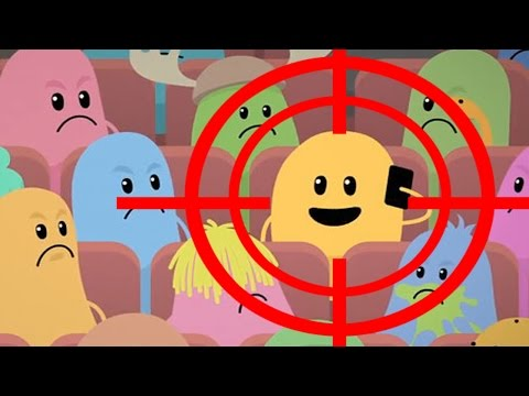 Dumb Ways To Die New Update! Funny Ways To Die In Movie Theater - All Win | Fail Compilation