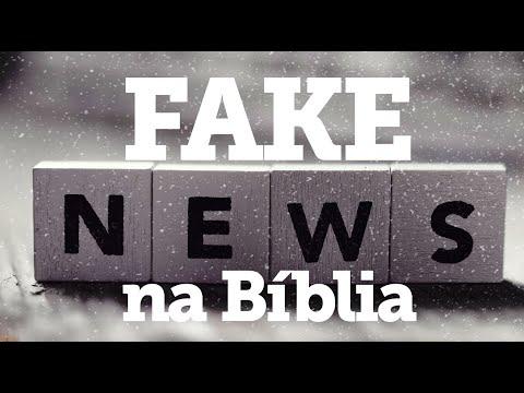 Fake news na Bíblia