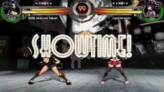 Skullgirls Versus: Okami vs Fagatron